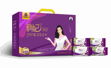 俏妃竹纤维卫生巾4.0