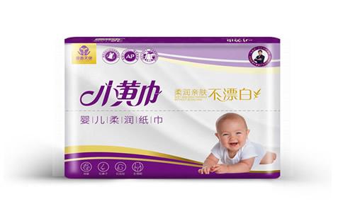 小黄巾婴儿柔润纸巾