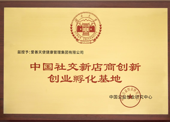 中国社交新店商创新创业孵化基地